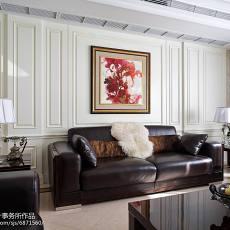 精选面积118平别墅客厅美式装修实景图
