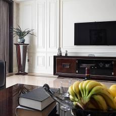 2018精选133平米美式别墅客厅效果图片