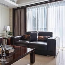 精美722平美式别墅客厅装饰美图