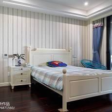 简洁460平美式别墅卧室设计效果图