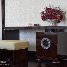 2018精选113平米美式别墅卧室装修设计效果图片