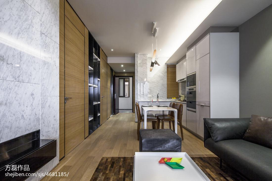 优美36平现代小户型客厅设计图