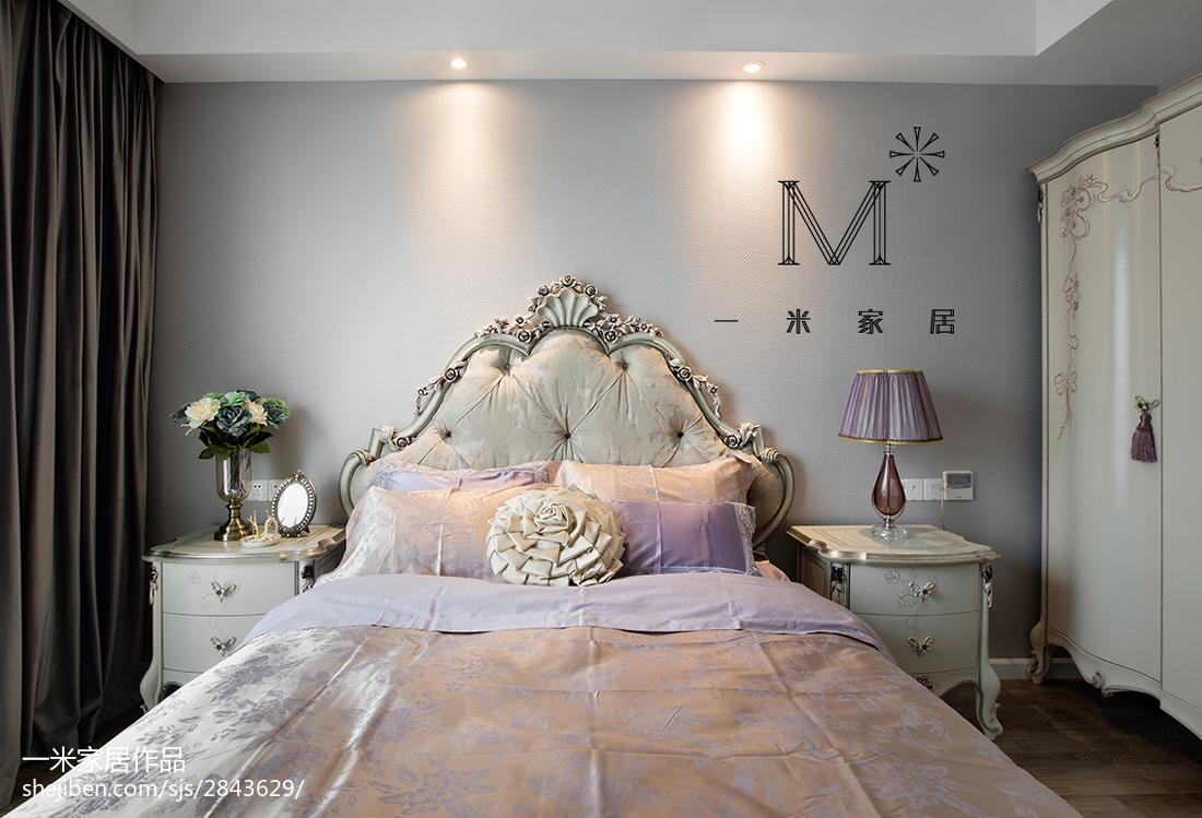 精选106平方三居卧室现代装修图片