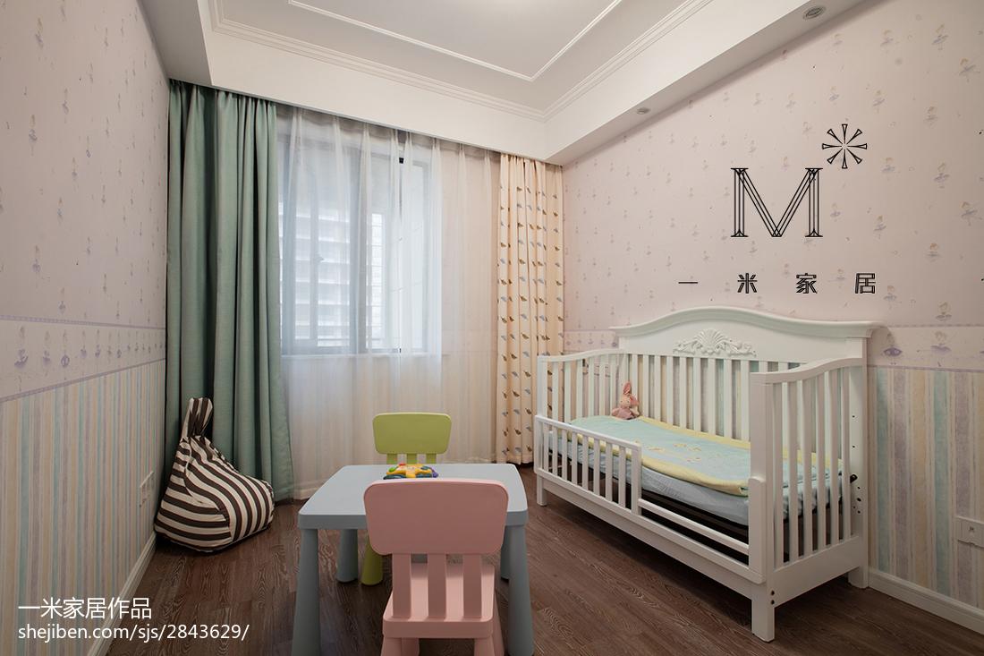 热门三居儿童房现代实景图