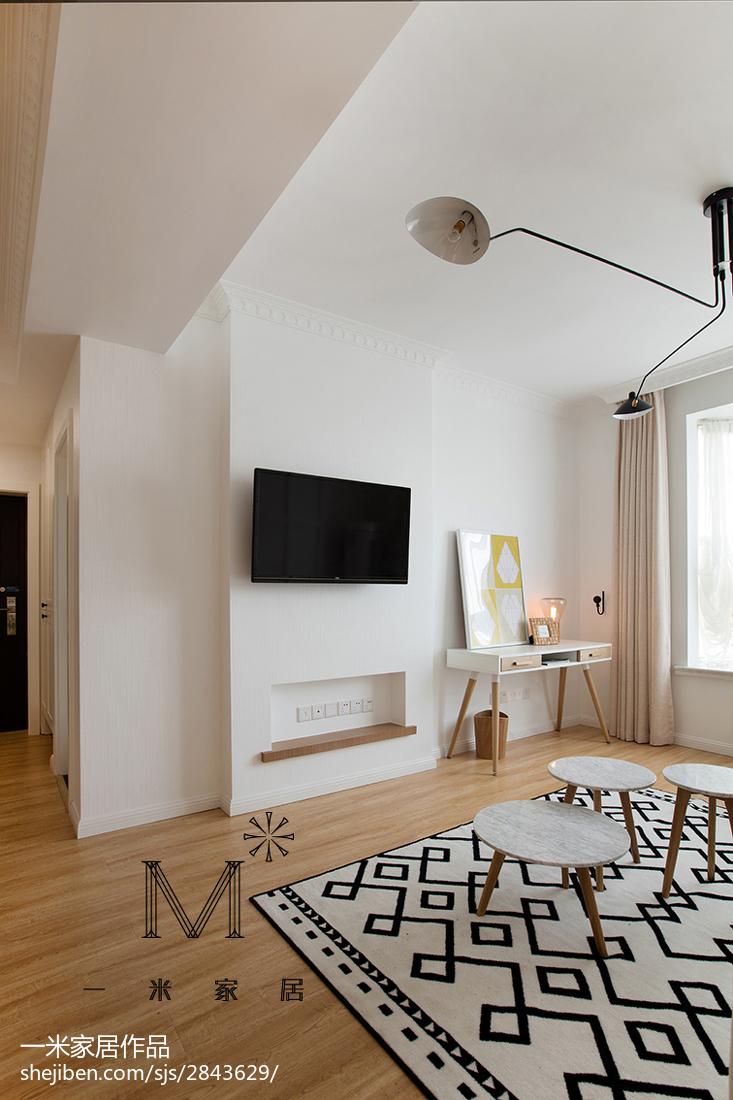 精美二居客厅北欧装修欣赏图片