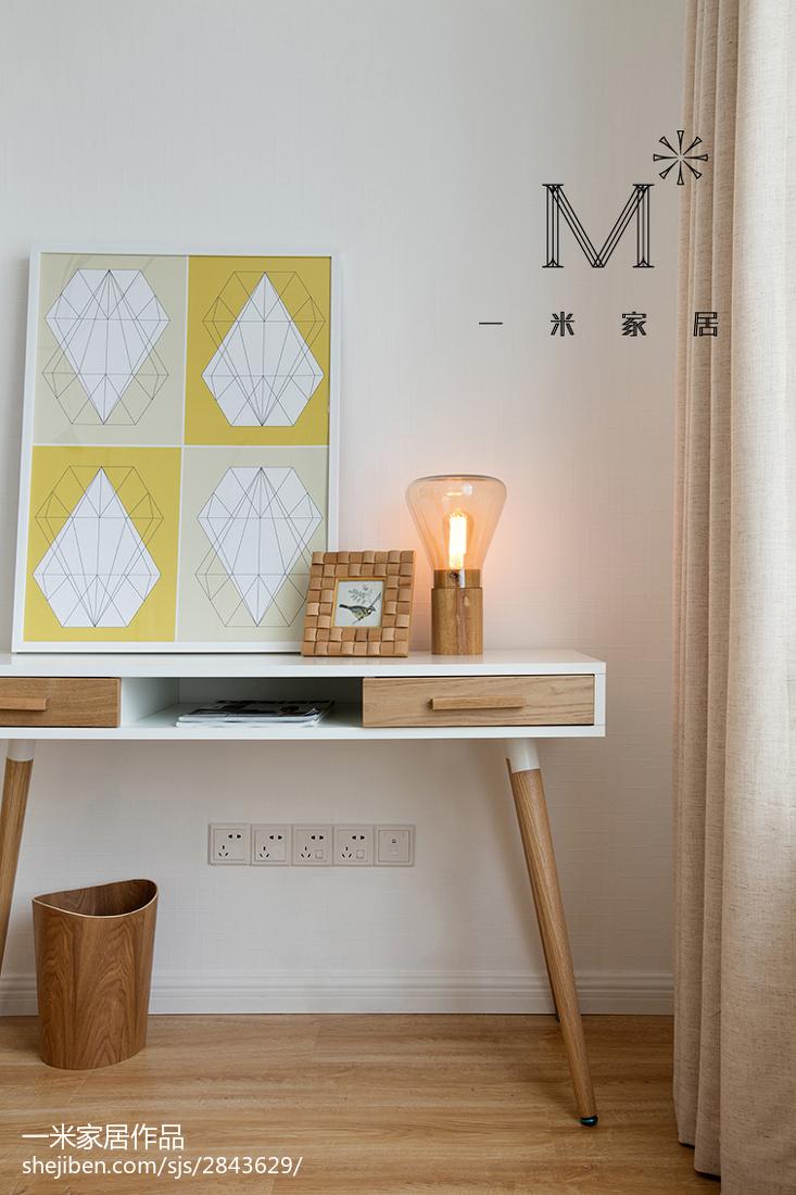 精美80平米二居客厅北欧装修设计效果图片