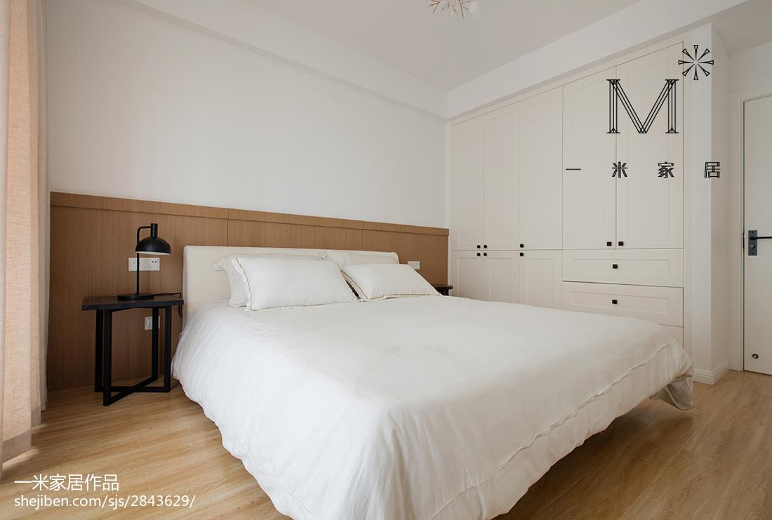 热门二居卧室北欧实景图片
