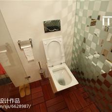 精美面积137平别墅卫生间现代实景图片欣赏