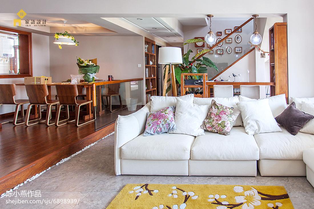 精选132平米日式复式客厅装修效果图片欣赏