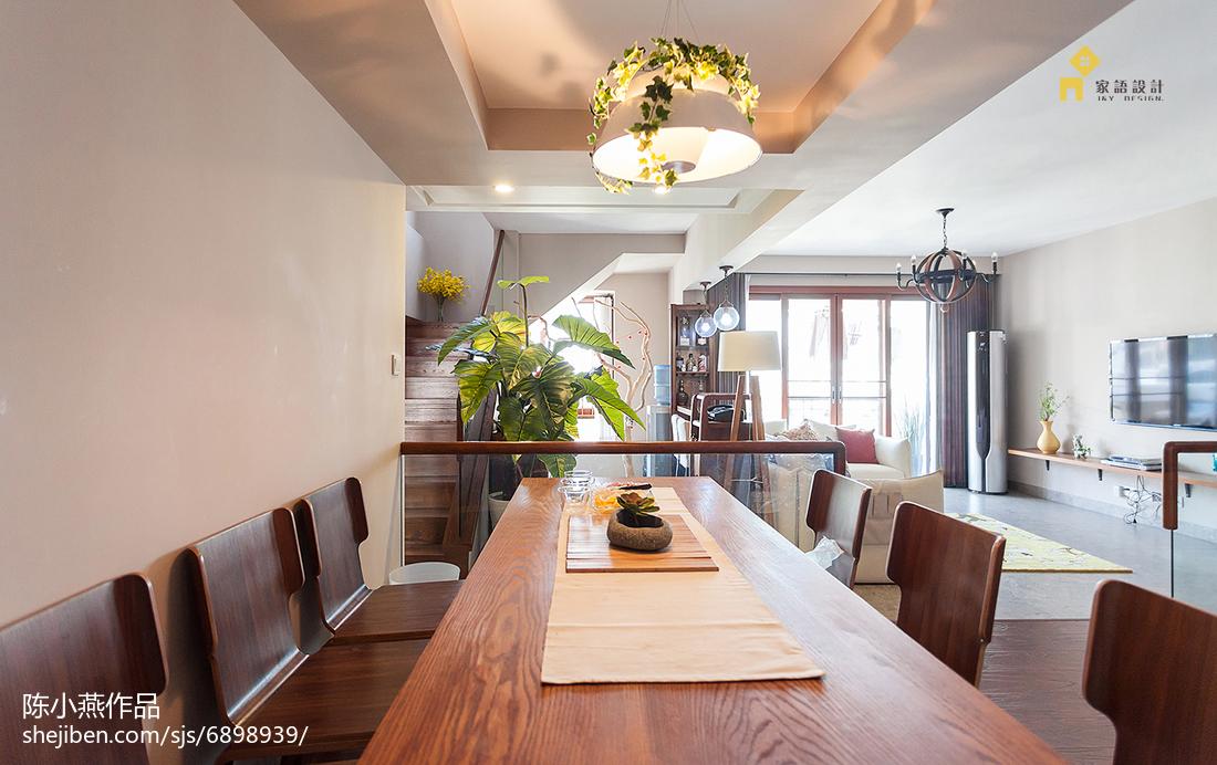 精选日式复式客厅装修设计效果图片欣赏