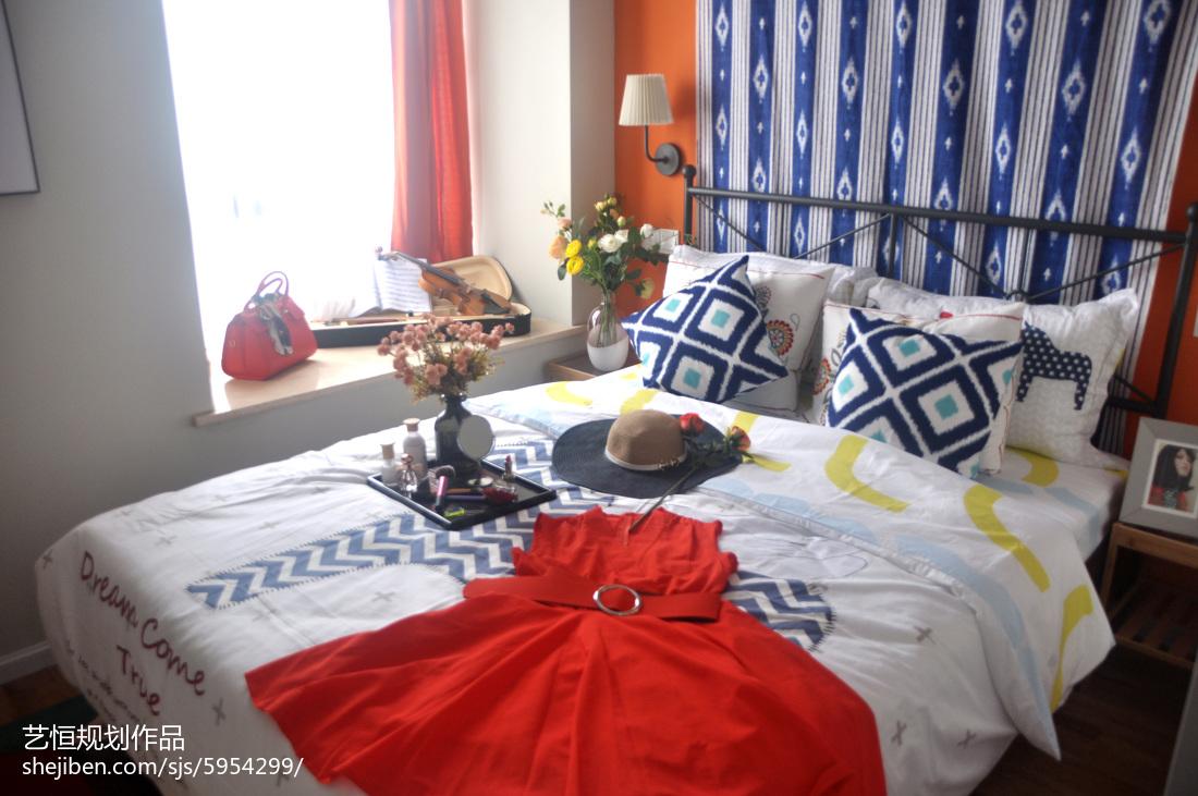 热门宜家卧室装修效果图片大全
