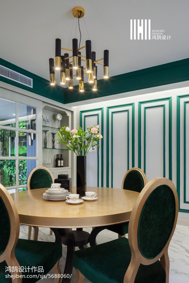 典雅99平美式三居设计案例