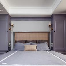 精美93平米三居卧室美式欣赏图片大全