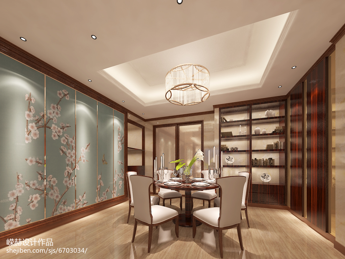 低奢质感现代化卧室装修效果图
