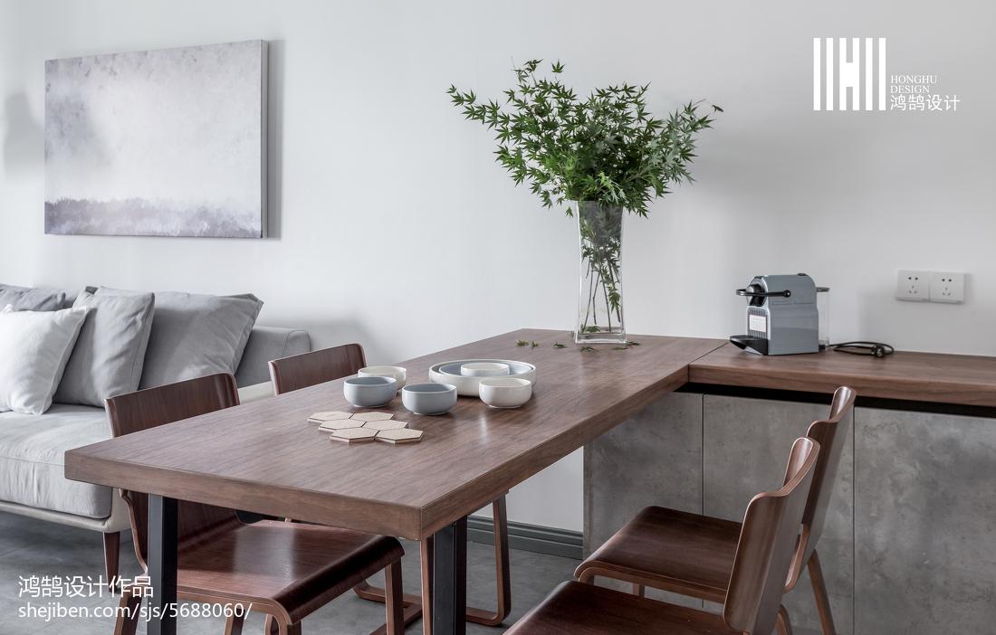 精选74平米二居餐厅北欧装修效果图片欣赏