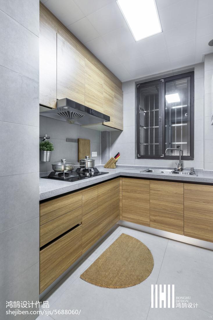 热门二居厨房北欧效果图片欣赏