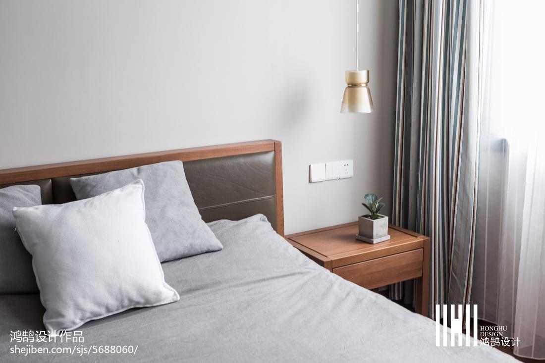热门83平米二居卧室北欧实景图片