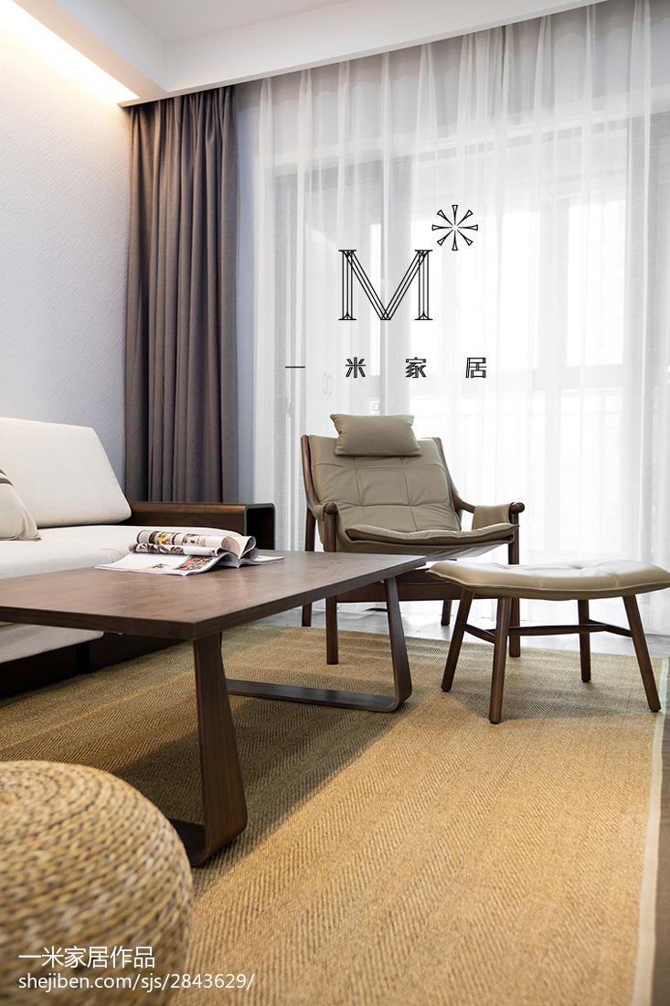精美90平客厅三居现代装修图片