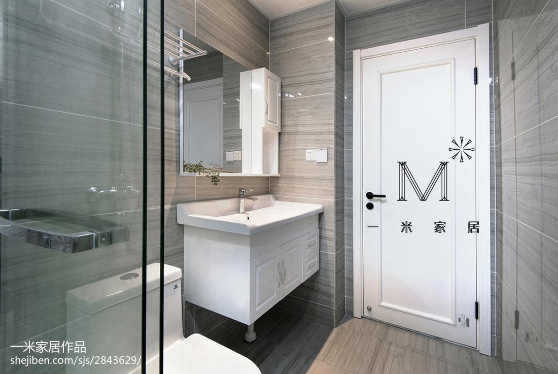 现代风格卫浴装饰图