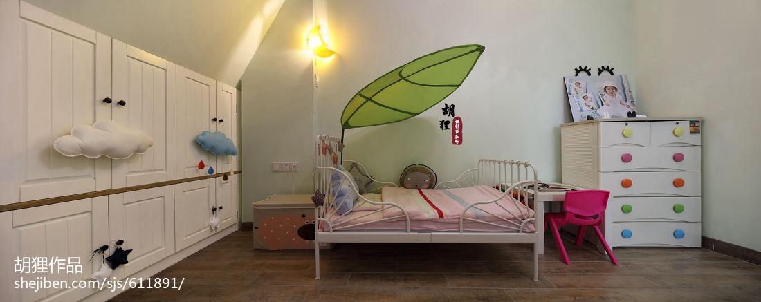 简洁71平北欧复式儿童房美图
