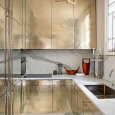 精美面积94平混搭三居厨房装修设计效果图片欣赏