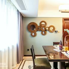 热门面积144平中式四居餐厅装修图片欣赏