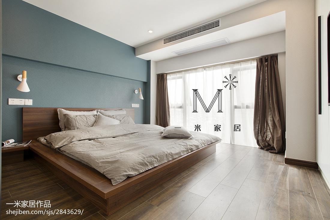 简洁26平现代小户型卧室设计案例