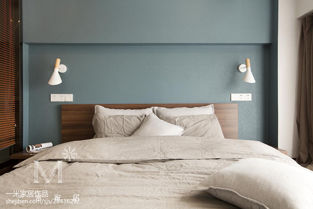 热门面积72平小户型卧室现代装修设计效果图片欣赏