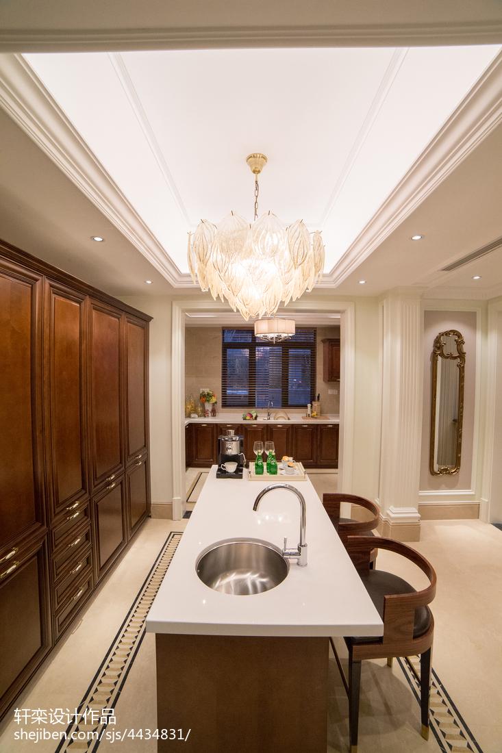 家装欧式别墅厨房装修