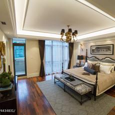 精选面积117平别墅卧室欧式装修效果图片大全