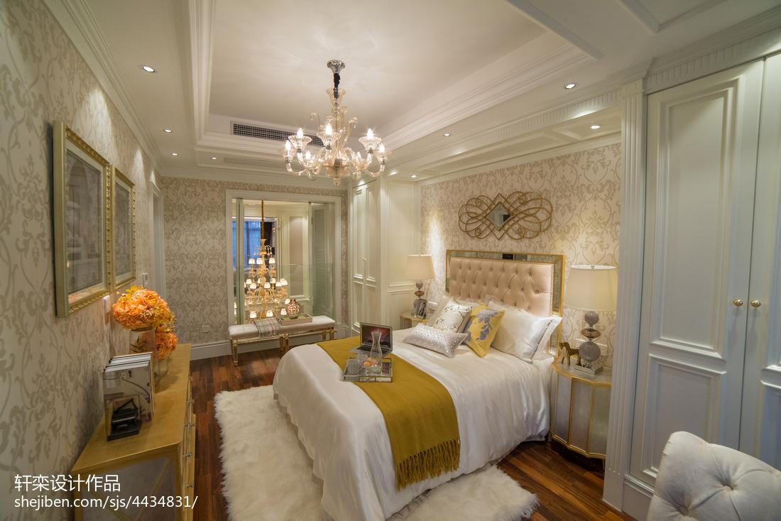 精致欧式别墅卧室效果图欣赏