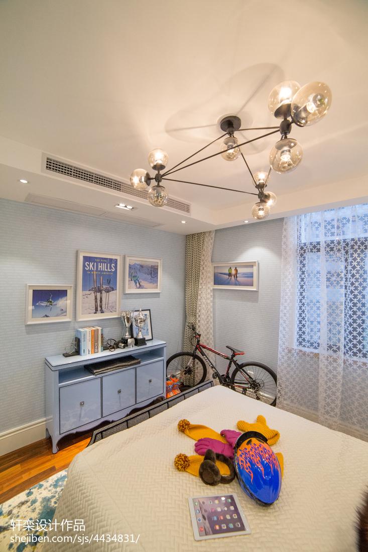 家装欧式儿童房设计效果图