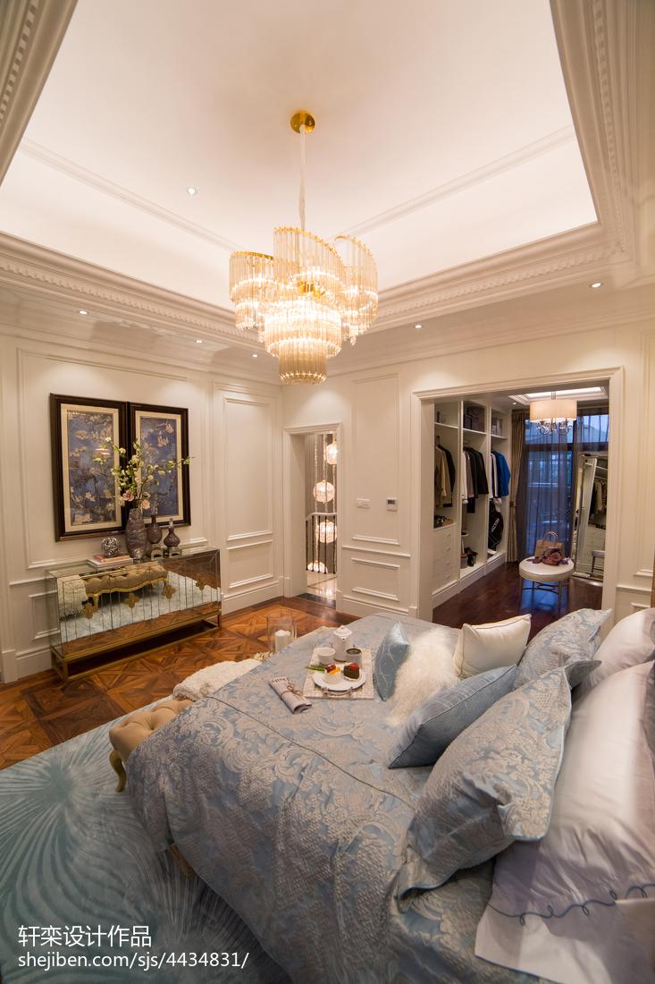 家居歐式風格臥室吊頂設計