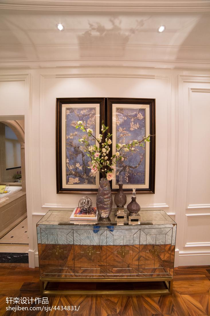 精选面积124平别墅卧室欧式装修效果图片大全