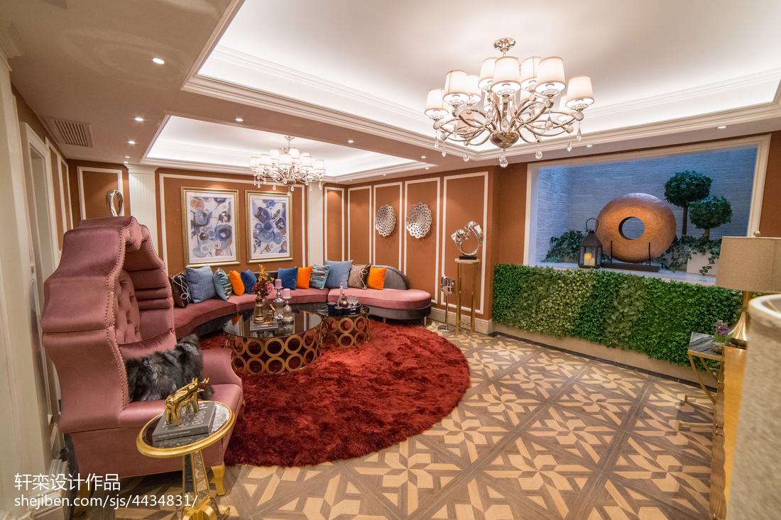 欧式风格别墅地下室设计案例