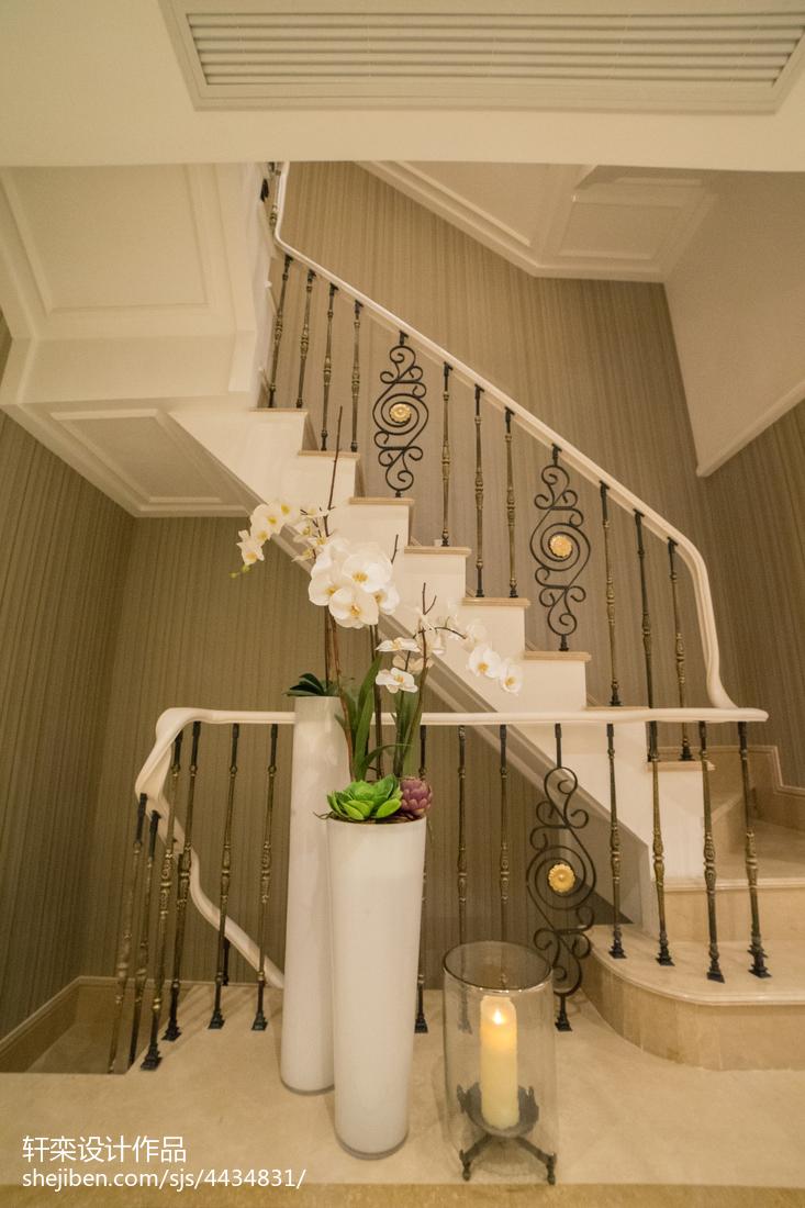 典雅欧式别墅楼梯设计