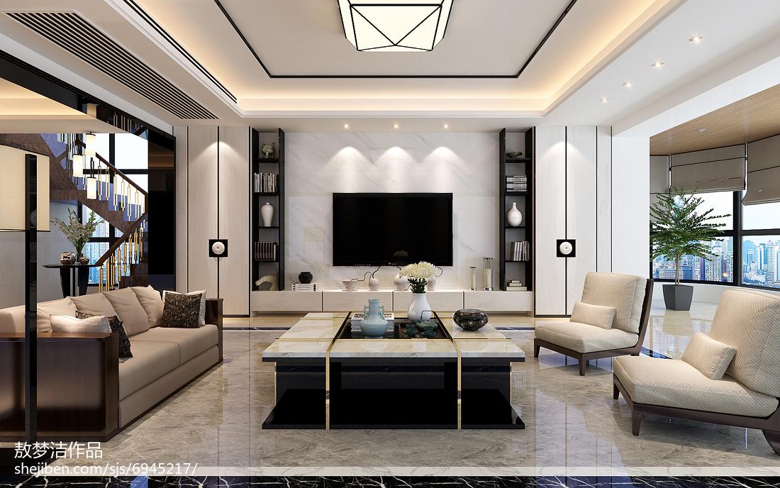 时尚现代家装四居设计
