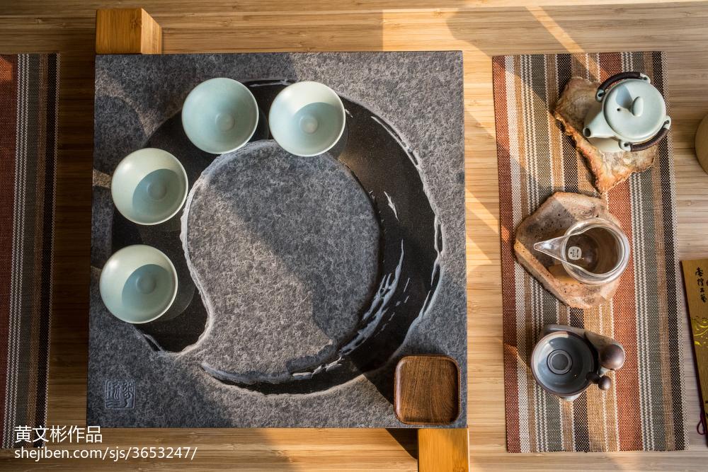 2018精选105平米三居休闲区中式装饰图片