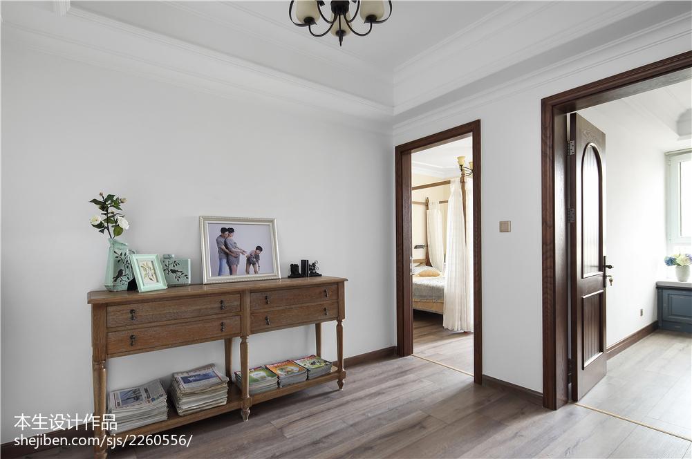 精选面积138平复式卧室美式设计效果图