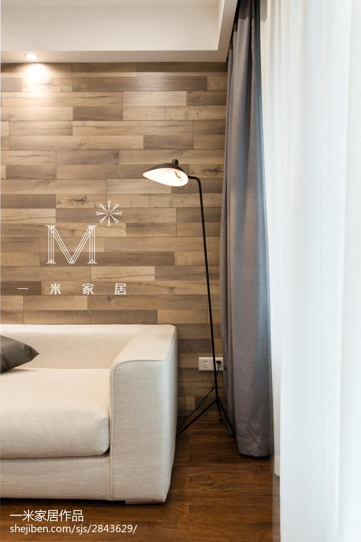 精选75平米二居客厅现代装饰图片大全