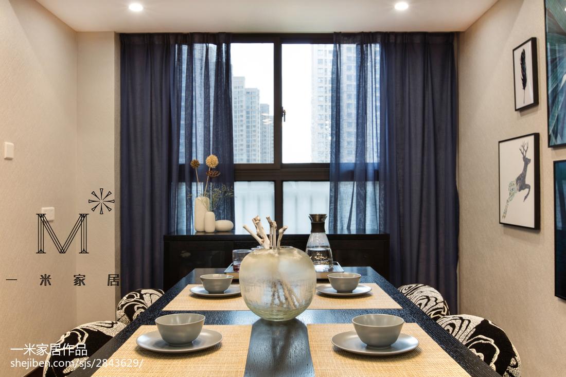 精美面积76平现代二居餐厅装饰图片