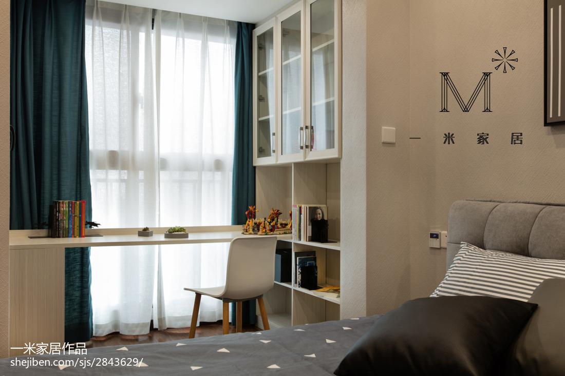 热门80平米二居儿童房现代装饰图片