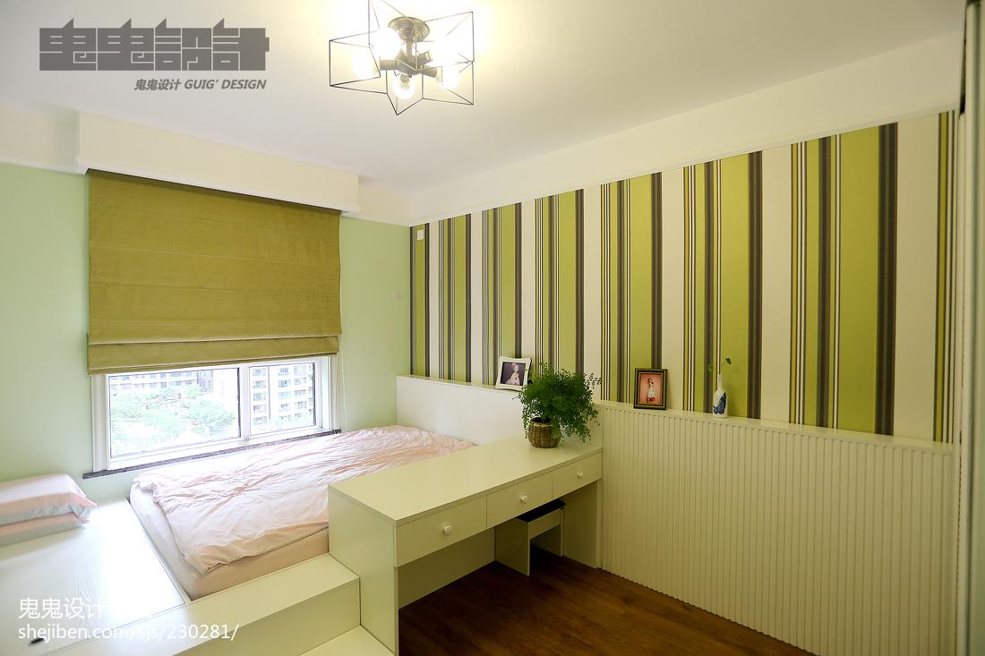 201895平方三居卧室中式装修图片