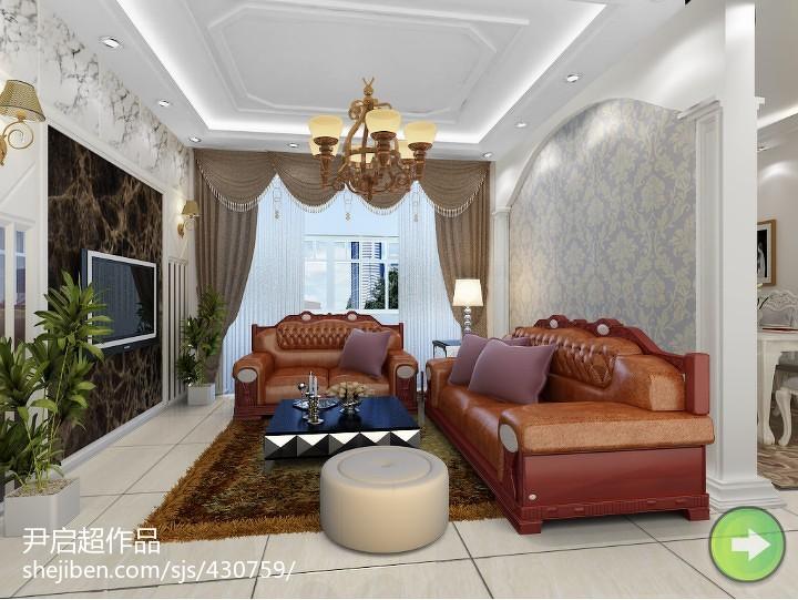 中式古典装饰卧室装修效果图
