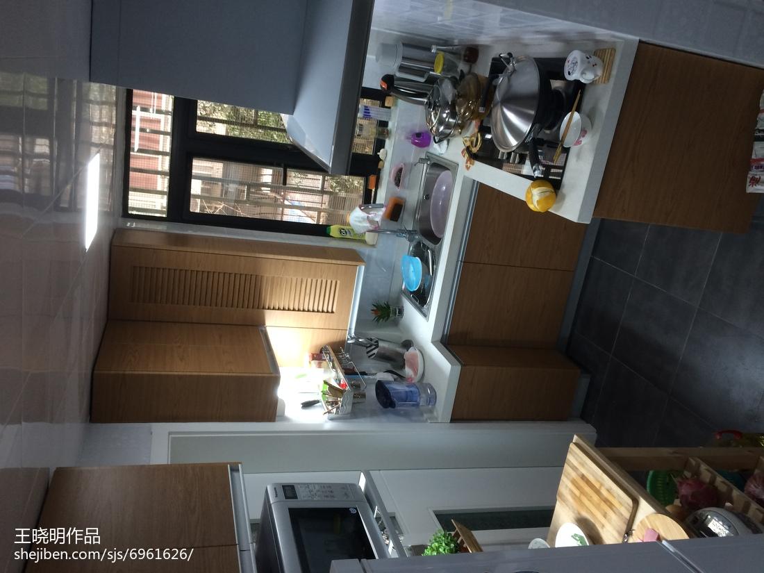 最新简约小户型厨房效果图