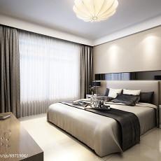热门面积81平现代二居卧室装修欣赏图