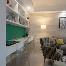 精选98平米三居客厅北欧装修图