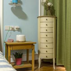 面积98平北欧三居卧室装修效果图