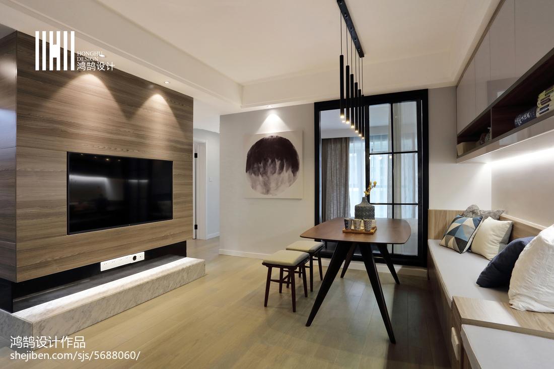 2018面积85平现代二居客厅装修图片大全