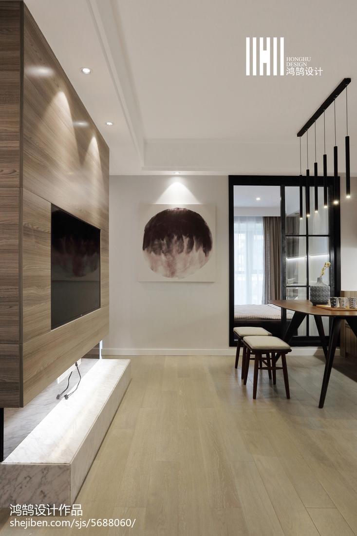 热门89平米二居客厅现代装饰图片欣赏